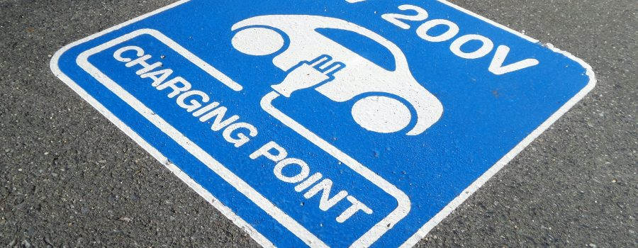 electrical vehicle charging point